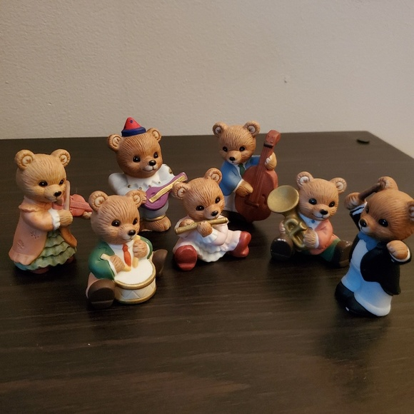 Home Interior Other - Band Bear Figurines